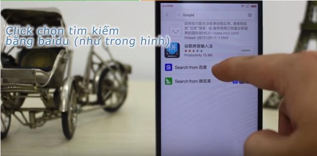 Tìm kiếm bằng Baidu