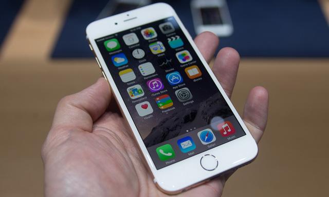 iPhone 6 Plus bị đơ cảm ứng