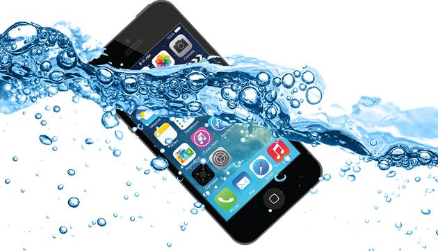 iPhone 5 bị vô nước
