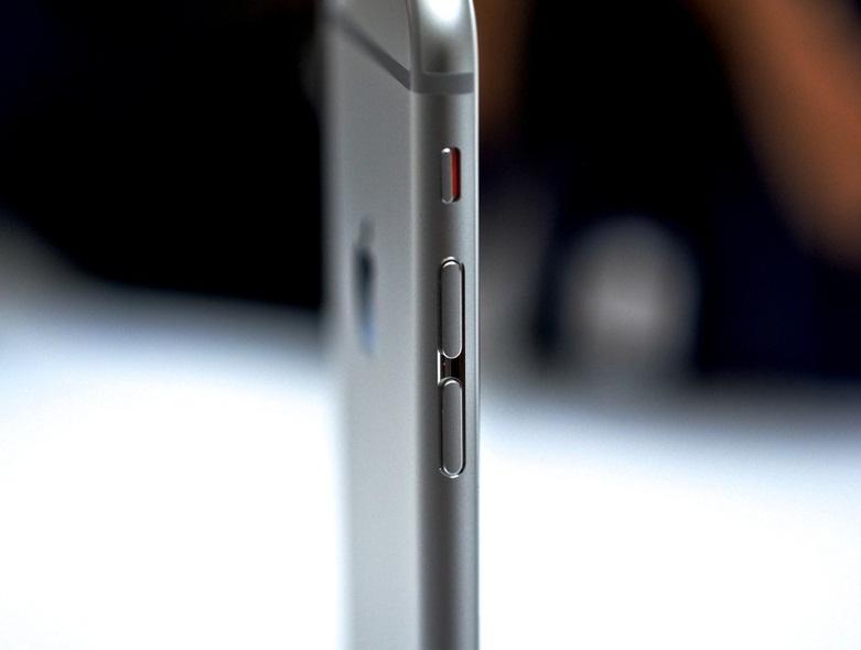 Nút gạt rung trên iPhone 6 Plus