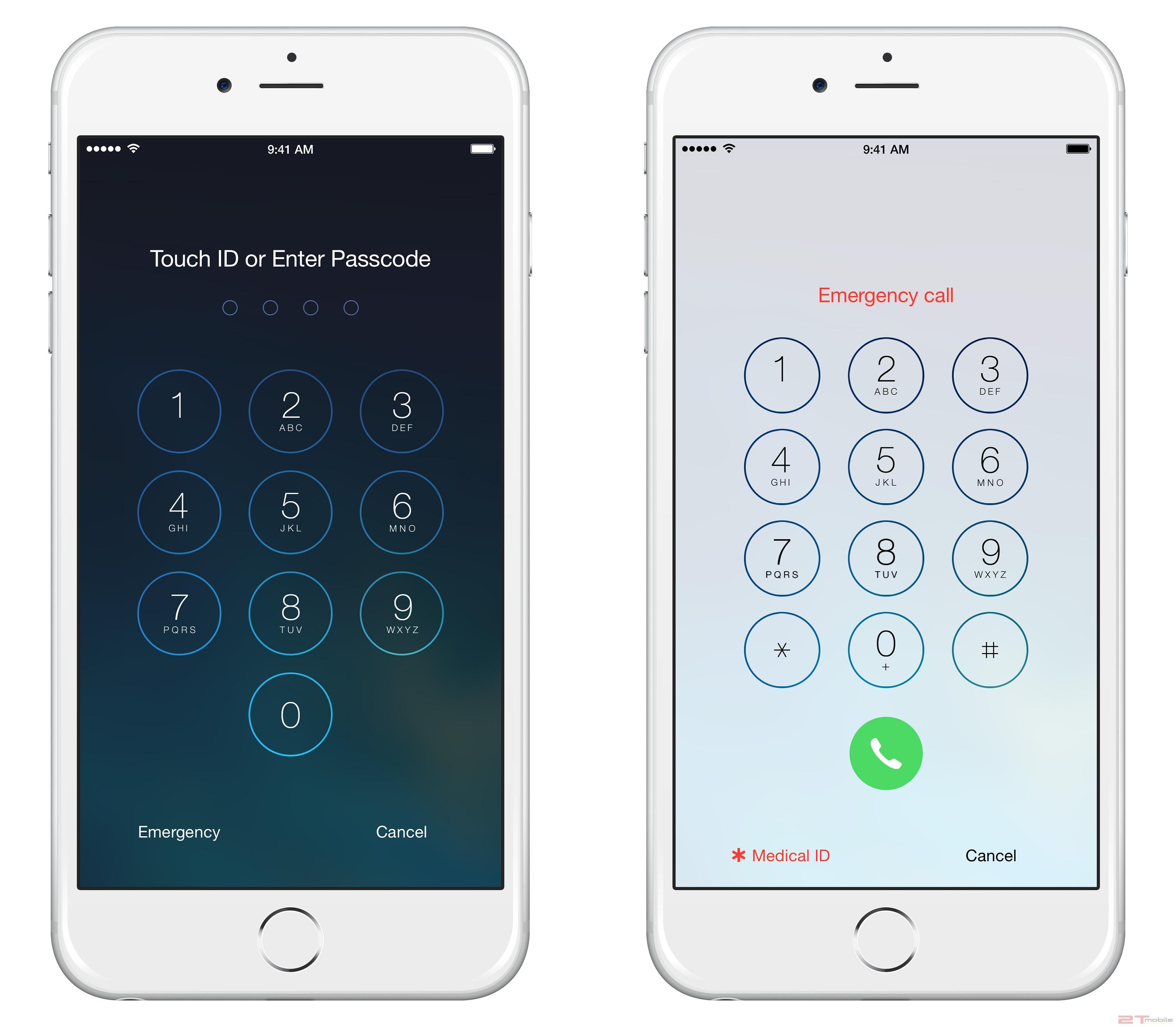 Mở khóa iPhone 6 Plus bằng Passcode
