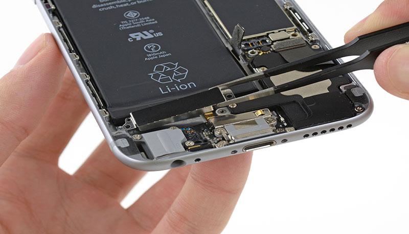 iphone 6 mất rung