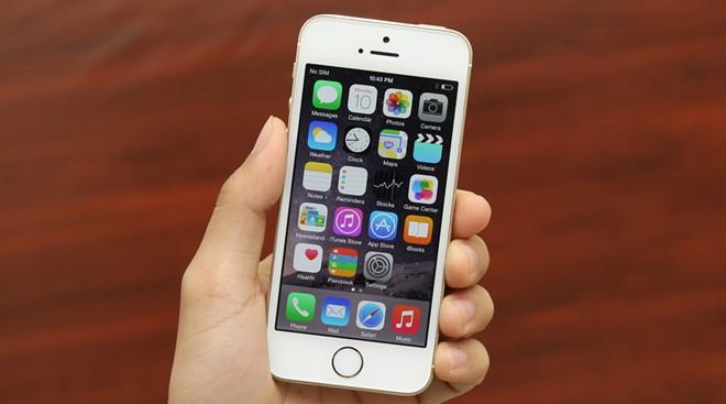iPhone 5S chạy iOS 9.3 beta 1