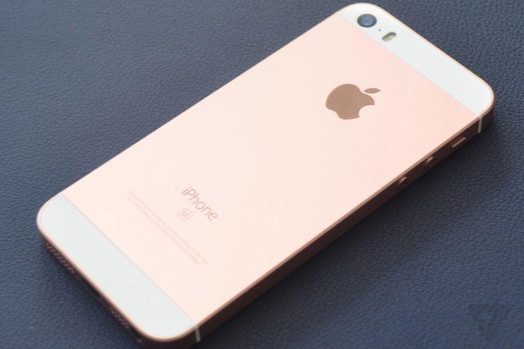 iPhone SE phiên bản màu hồng