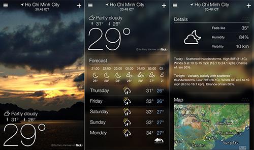 Ứng dụng thời tiết