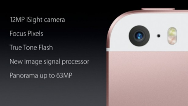 Camera iPhone SE và 6s tương đồng nhau