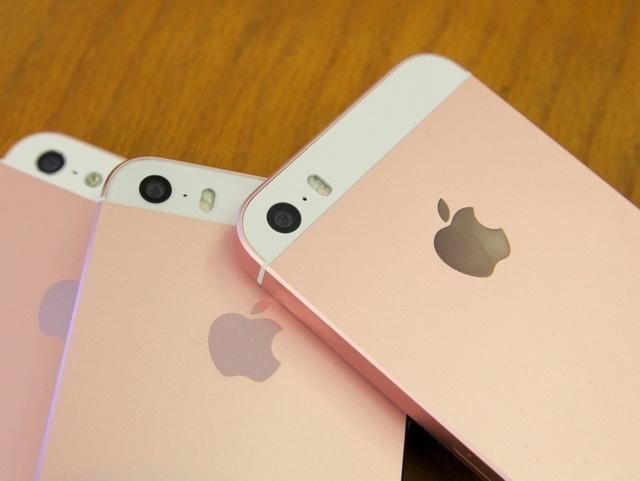 iPhone độ sẽ có logo được khắc lên