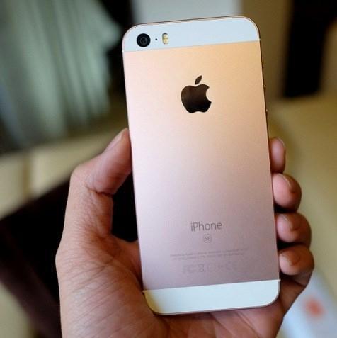 iPhone 5s đã được độ vỏ SE