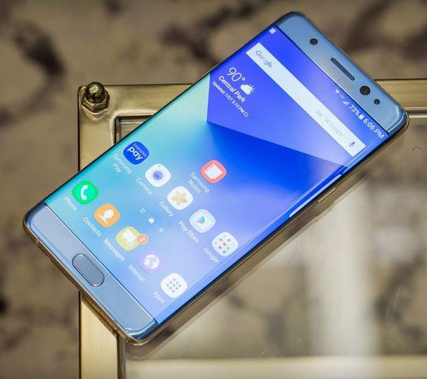 Galaxy Note 7 thiết kế tinh tế