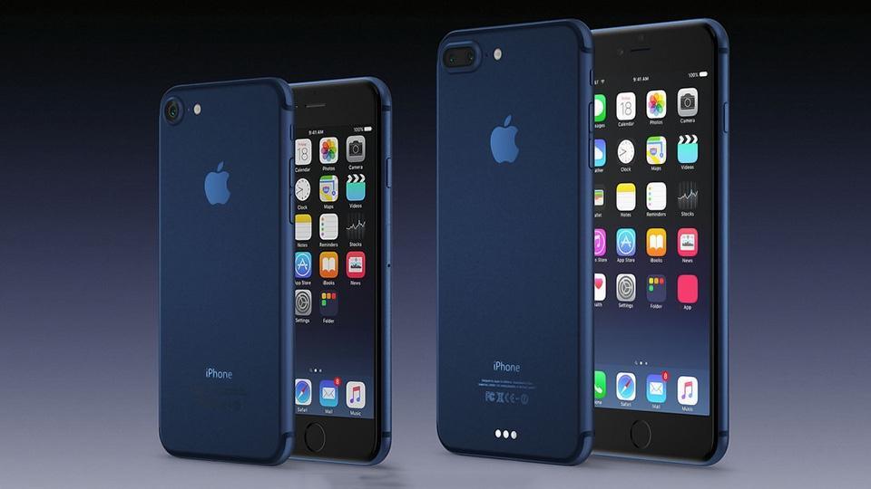 iPhone 7, 7 Plus màu xanh đen