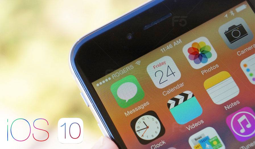iOS 10 nhiều tính năng hấp dẫn