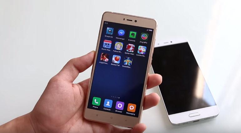 Xiaomi Mi 4S không lên màn hình