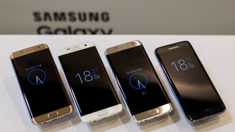 Galaxy S7 Edge có 4 màu
