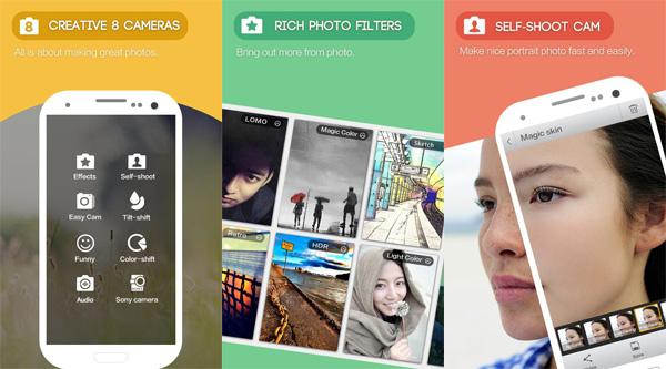 Description: Camera360 là một ứng dụng tự sướng vô cùng phổ biến tại Việt Nam