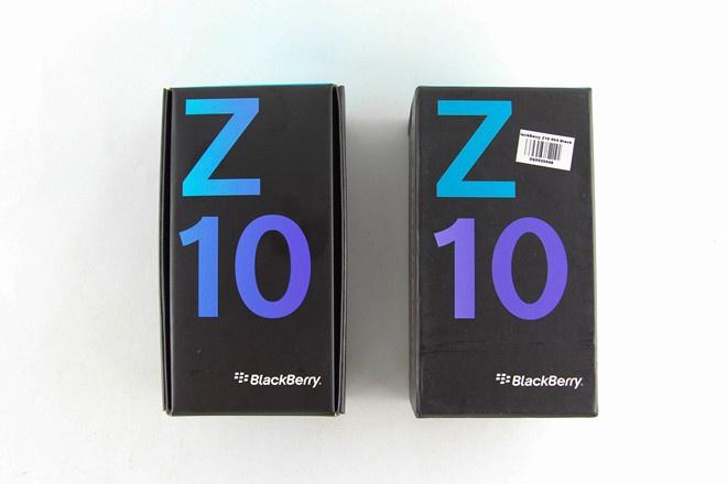 Vỏ hộp Blackberry Q10