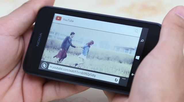 Xem video trên Lumia 530