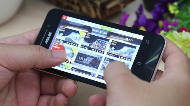 Ứng dụng trên Asus Zenfone 4
