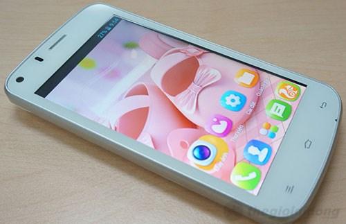 Gionee p3 rộng và dày hơn, màn hình sắc nét hơn