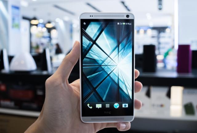 Thiết kế ấn tượng của HTC one max
