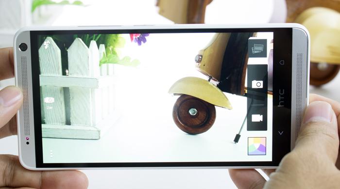 HTC one max cho những bức ảnh rõ nét và sống động