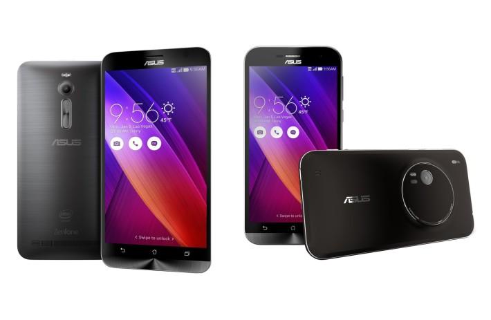 Điện thoại Asus Zenfone 2 và Asus Zenfone Zoom