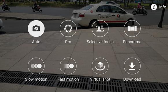 Samsung Galaxy S6 có nhiều chế độ chụp ảnh khác nhau