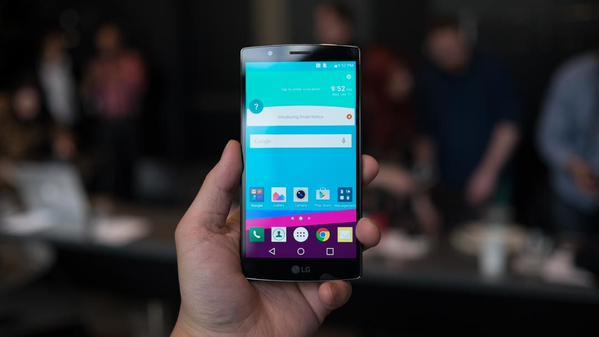 Hình ảnh chiếc điện thoại LG 4