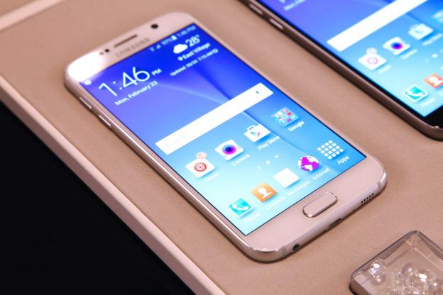 Hình ảnh về chiếc điện thoại Samsung galaxy s6