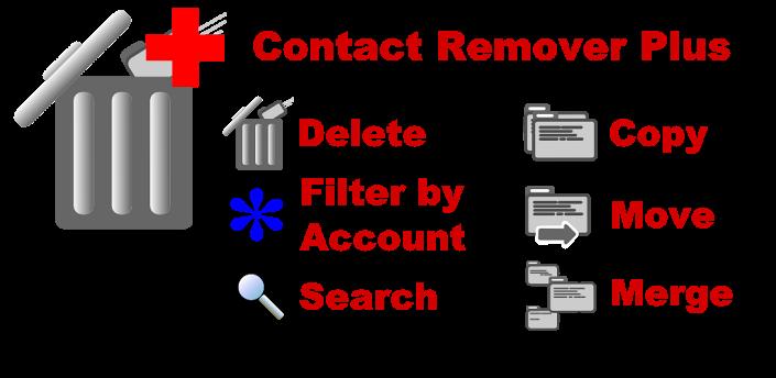Hình ảnh về phần mềm Contact Remover Plus