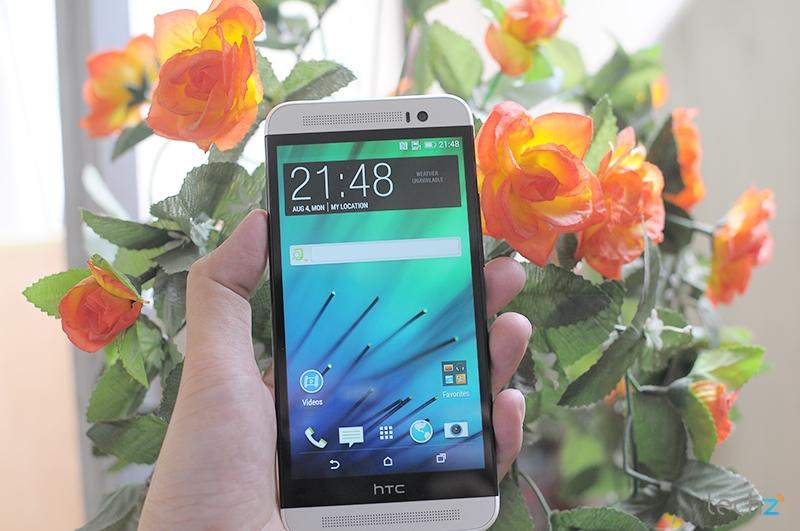 Khui hộp HTC One E8 - Phiên bản vỏ nhựa, 2 SIM, giá tốt